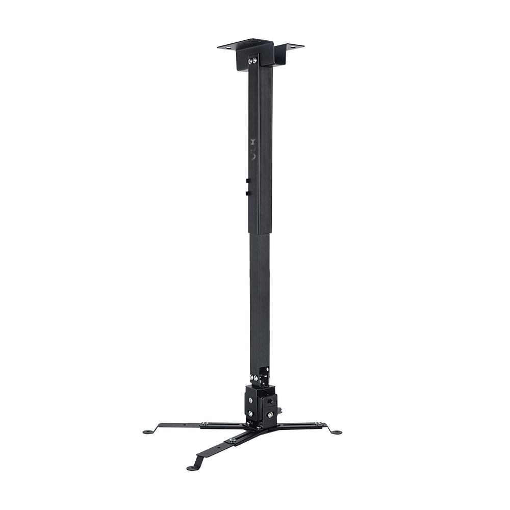 Кронштейн для проекторов VLK TRENTO-84 Черный настенный/потолочный, наклонно-поворотный, до 15 кг цена и фото