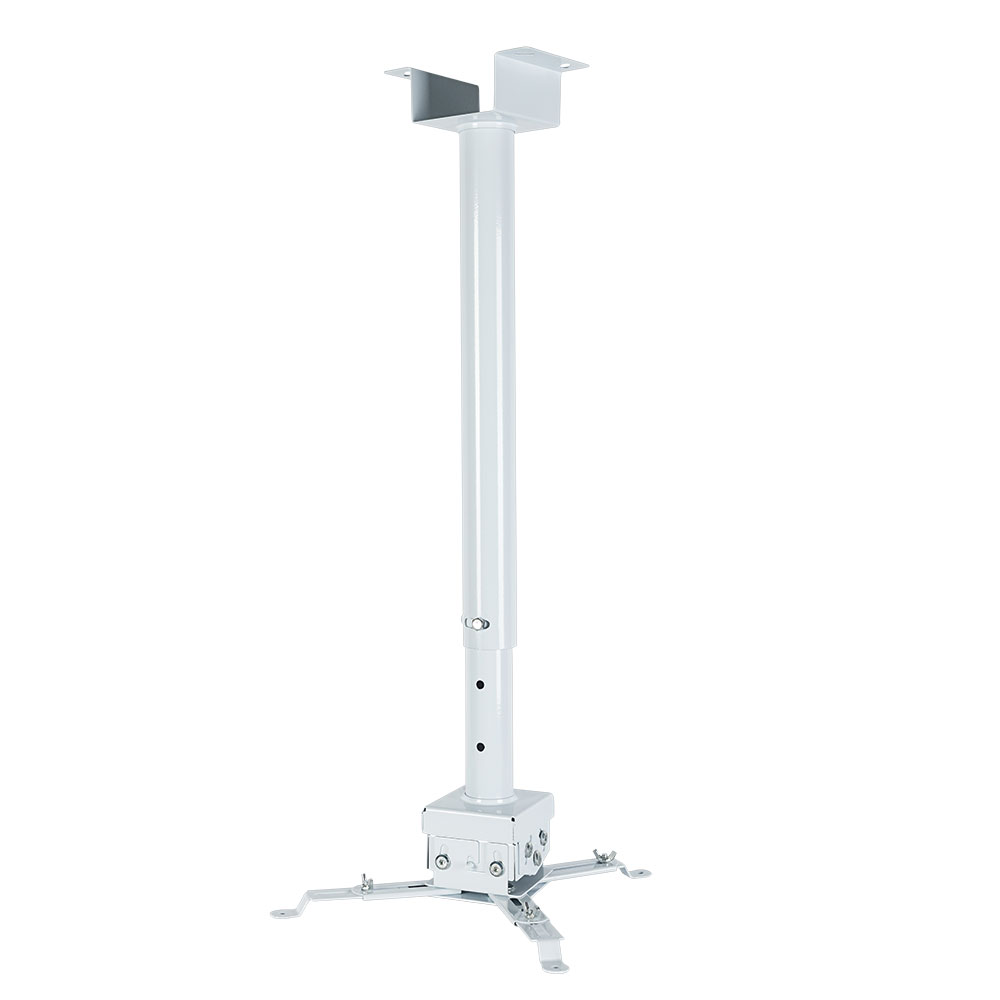 лучшая цена Кронштейн для проекторов VLK TRENTO-85w Белый потолочный, наклонно-поворотный, до 15 кг