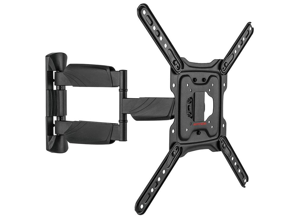 Фото - Кронштейн ARM Media COBRA-40 black, для LED/LCD TV 22-65, max 35 кг, настенный, 4 ст свободы, max VESA 400x400 мм. платье weekend max mara weekend max mara we017eworc31