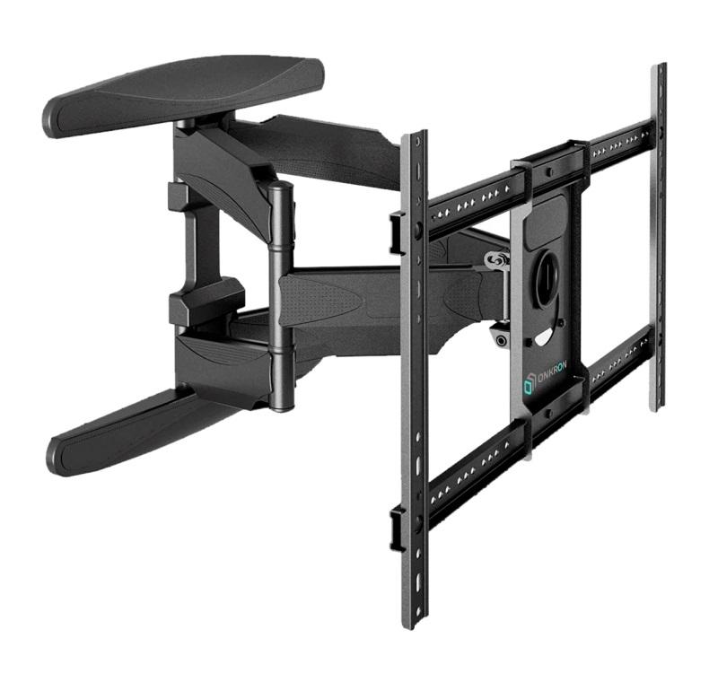 Фото - Кронштейн ONKRON M6L 40-70 черный 600*400, 45.5 кг имидж мастер парикмахерское кресло контакт пневматика пятилучье хром 33 цвета черный 600