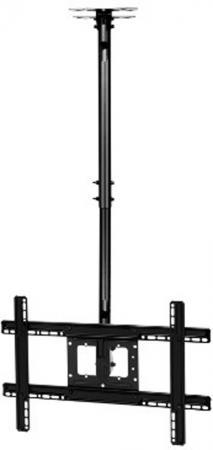 Фото - Кронштейн для телевизора Onkron N2L 32-70 Black потолочный, наклонно-поворотный, VESA до 600x400, до 68,2 кг кронштейн