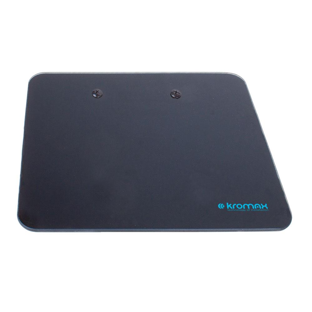 цены Кронштейн для DVD и AV систем Kromax MICRO-MONO black, max 5 кг, настенный, от стены 200 мм, ширина 175 мм