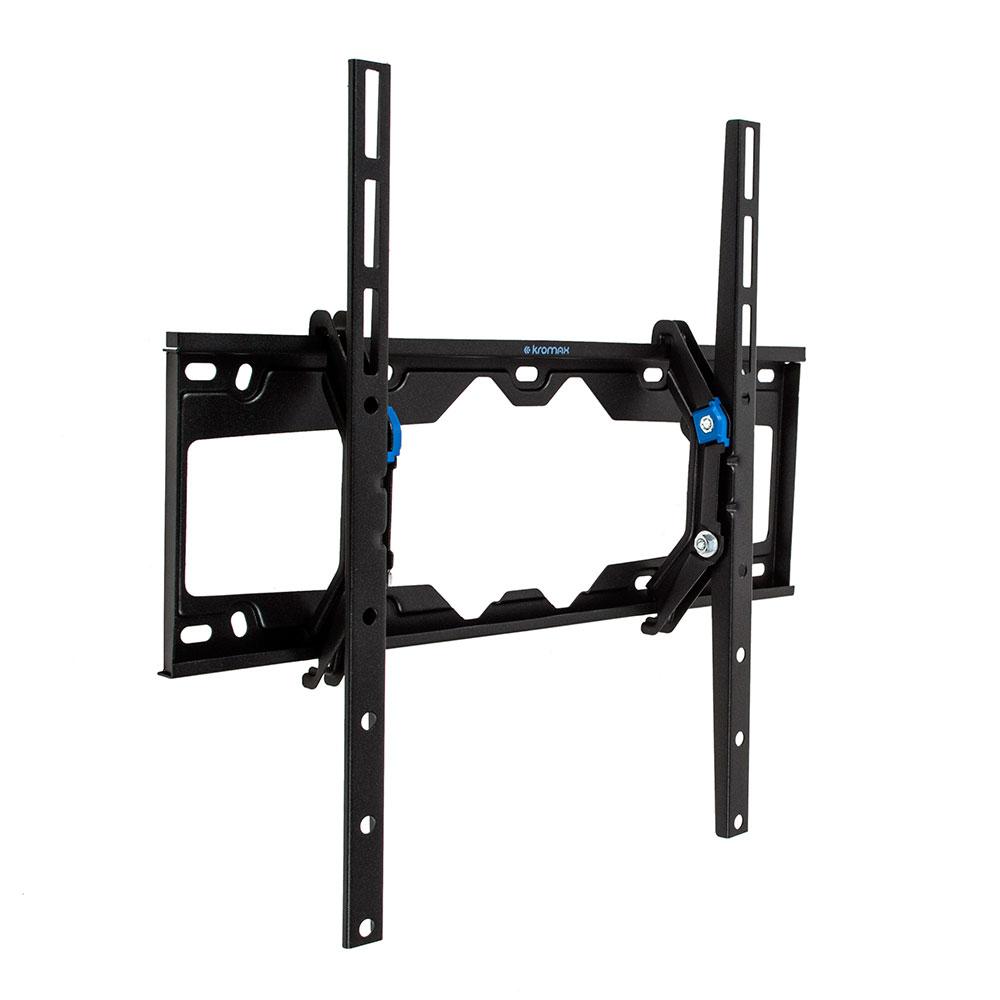 купить Кронштейн Kromax ELEMENT-4 для LED/LCD TV 22-65, max 50 кг, 1ст свободы, наклон 0°-15°, от стены 66мм, max VESA 400x400 мм, автомат замок - фиксатор дешево