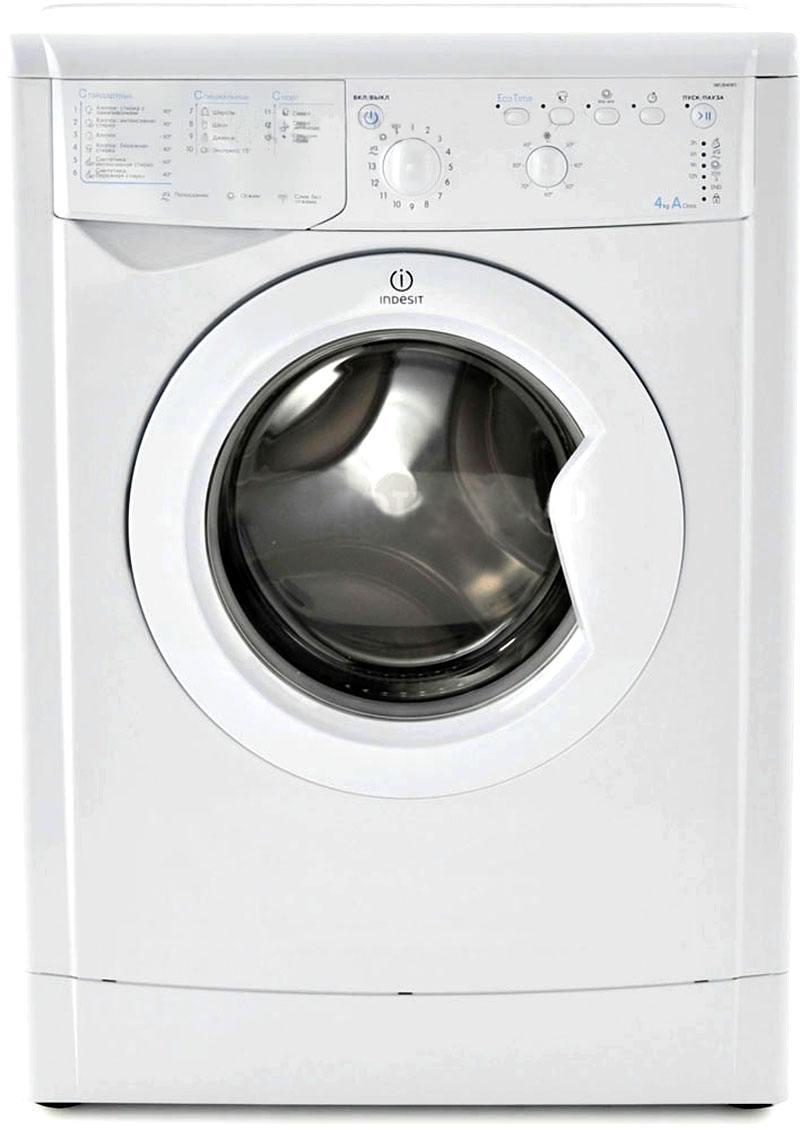 Стиральная машина Indesit IWUB 4105 цена и фото
