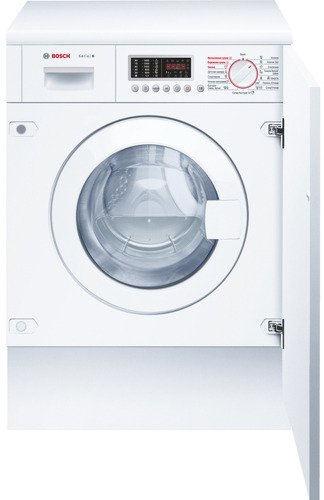 Встраиваемая стиральная машина BOSCH WKD28541OE стиральная машина hisense wfea6010s