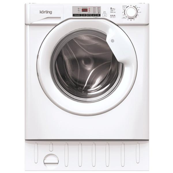 Встраиваемая стиральная машина Korting KWDI 1485 W встраиваемая стиральная машина ardo 55flbi108sw