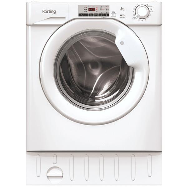 Встраиваемая стиральная машина Korting KWMI 1480 W встраиваемая стиральная машина ardo 55flbi108sw