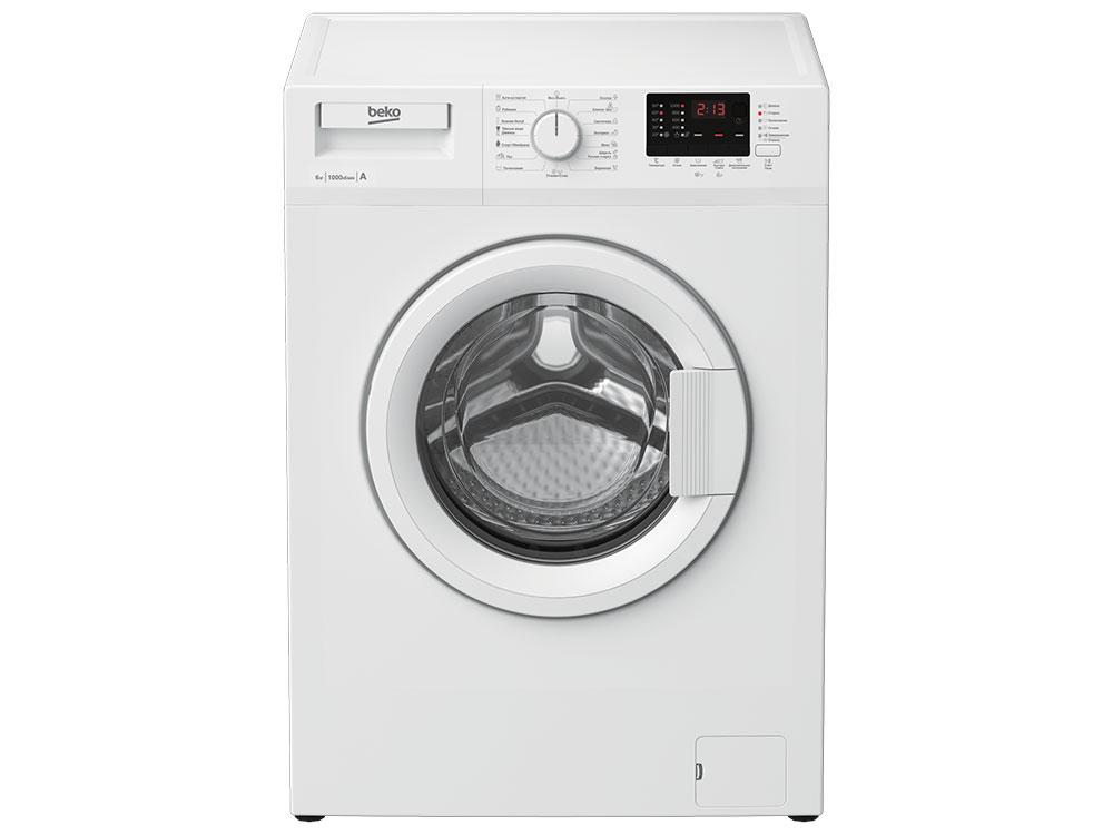 Стиральная машина BEKO WRE 65P2 BWW стиральная машина узкая beko mvy 69021 yb1