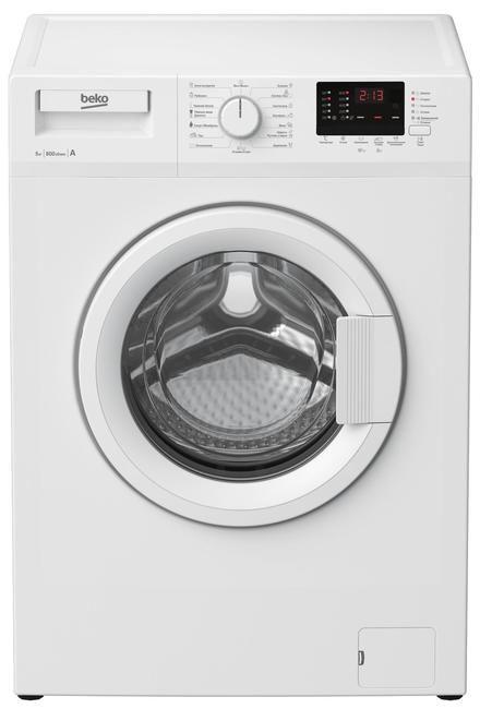 Стиральная машина BEKO WRS 54P2 BWW стиральная машина bomann wa 5716
