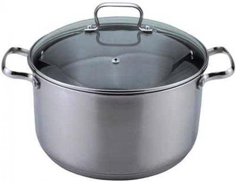 Кастрюля Bekker 1723-ВК 20 см 3.6 л нержавеющая сталь кастрюля lara lr02 021 18 см 2 3 л нержавеющая сталь