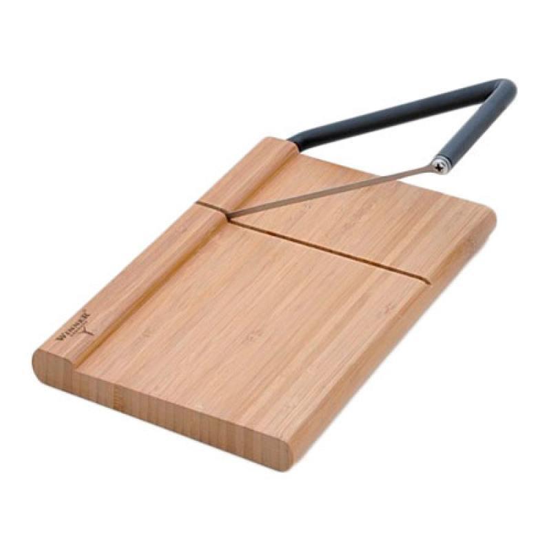 все цены на Сырорезка Winner WR-7501 бамбук нержававеющая сталь онлайн