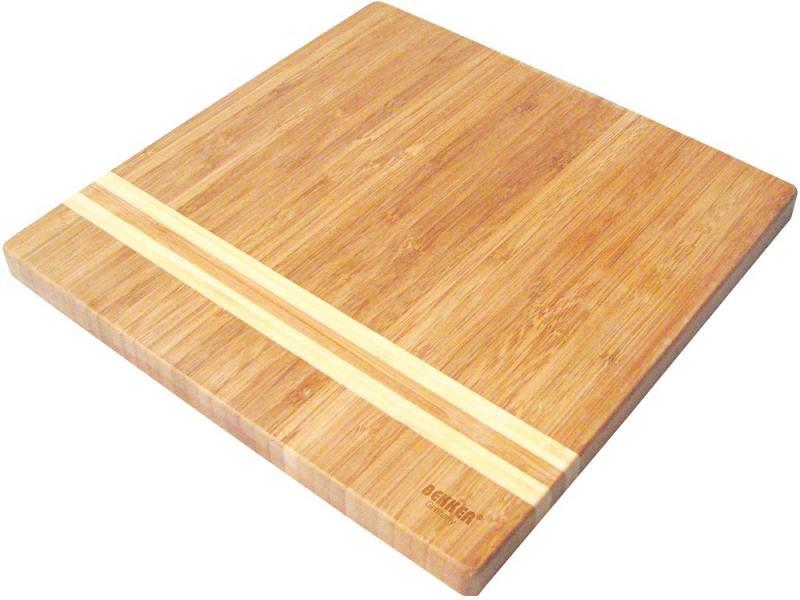 Разделочная доска Bekker BK-9725 бамбук 25х25x1.8 см разделочная доска bekker bk 9702 25 см бамбук