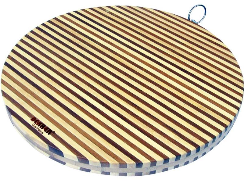Разделочная доска Bekker BK-9710 35 см бамбук разделочная доска bekker bk 9702 25 см бамбук