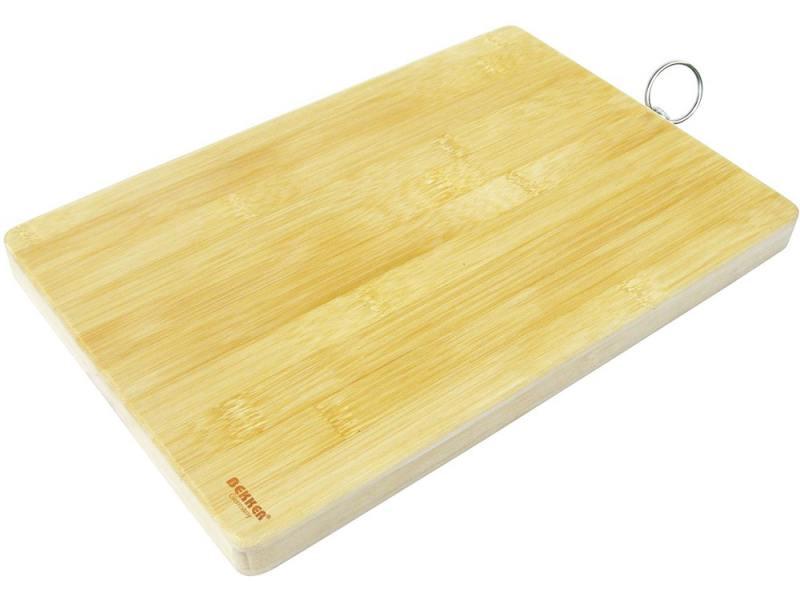 Доска разделочная Bekker BK-9701 бамбук 34x24x2 см цена