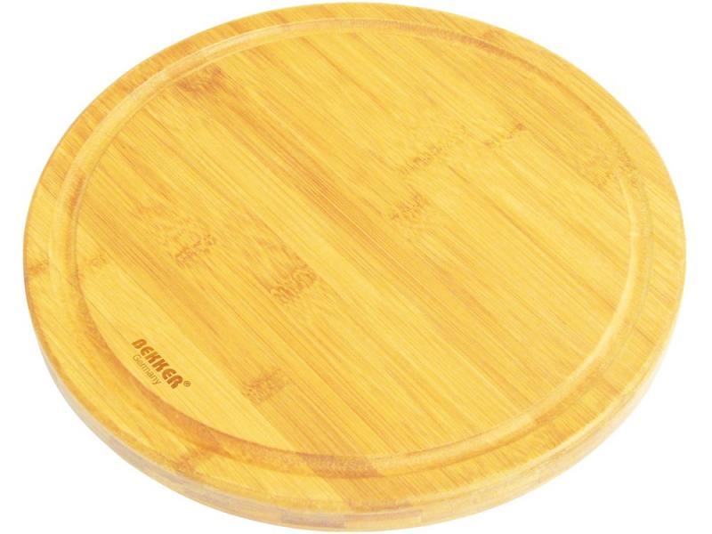 Разделочная доска Bekker BK-9716 30 см бамбук цена