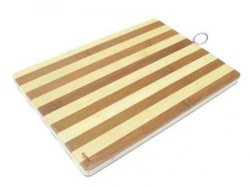Доска разделочная Bekker BK-9708 бамбук 40х30х2 см цена