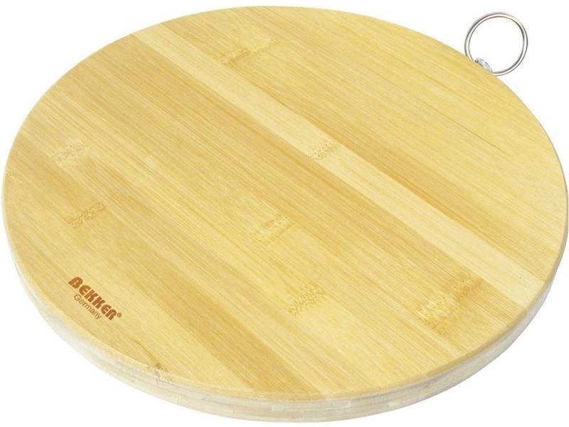 Разделочная доска Bekker BK-9702 25 см бамбук доска разделочная zeller 38 5 х 30 см
