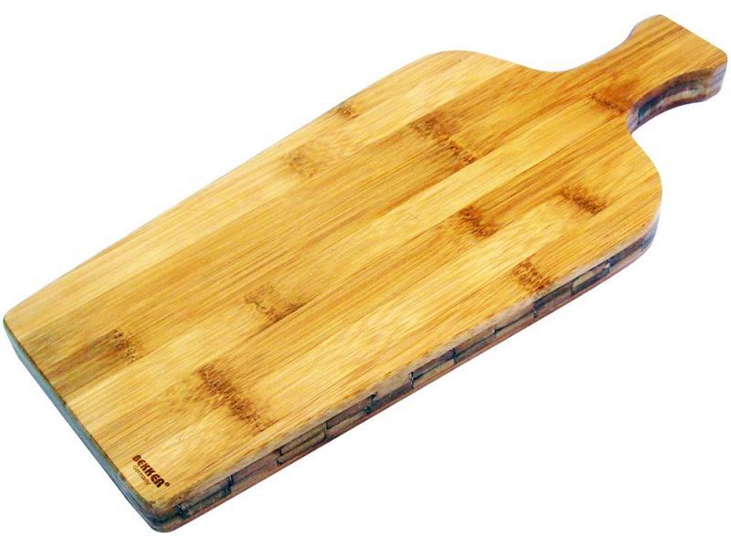 Доска разделочная Bekker BK-9719 37х16x2 бамбук разделочная доска bekker bk 9702 25 см бамбук