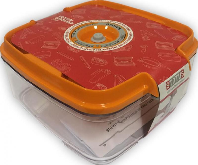 все цены на Контейнер для вакуумного упаковщика Status VAC-SQ-20 оранжевый онлайн