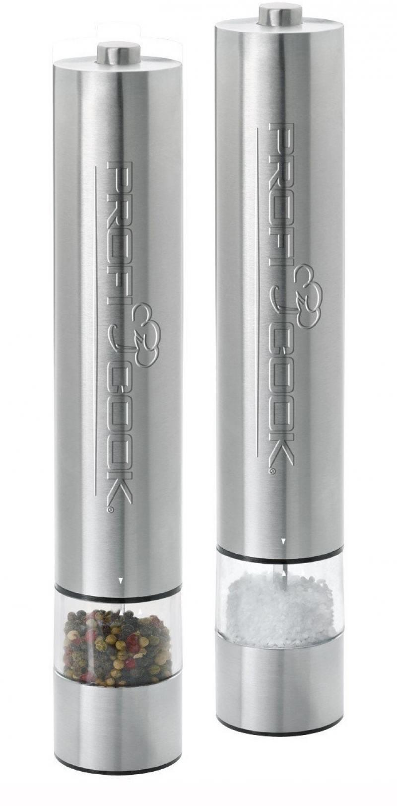Измельчитель Profi Cook PC-PSM 1031 серебристый для специй и соли измельчитель gorenje s450e 450вт серебристый