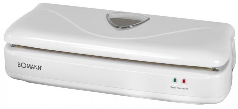 Вакуумный упаковщик Bomann FS 1014 CB white вафельница bomann wa 5018 cb white