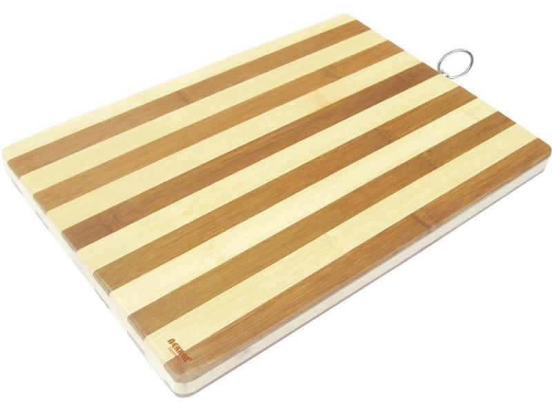 Доска разделочная Bekker BK-9707 38х26х1.8 бамбук разделочная доска bekker bk 9702 25 см бамбук