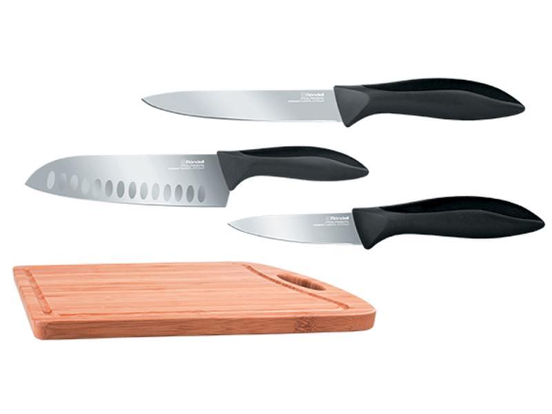 цена на Набор ножей Rondell Primarch RD-462 4 предмета