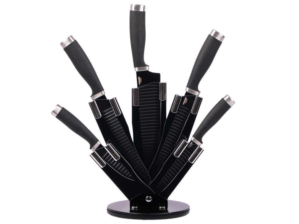 Набор ножей Winner WR-7349 6 предметов нержавеющая сталь набор для вина winner сомелье wr 7112