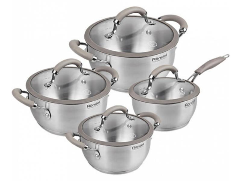 Набор посуды Rondell Balance RDS-756 8 предметов