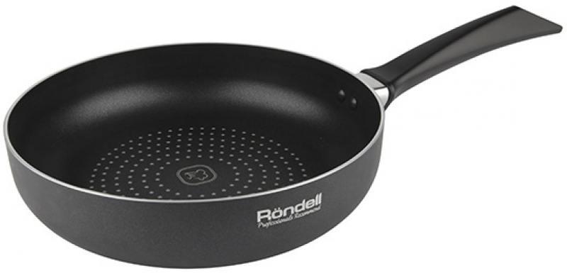 Сковорода с принтом Rondell Arabesco RDA-776 24 см алюминий сковорода d 24 см kukmara кофейный мрамор смки240а