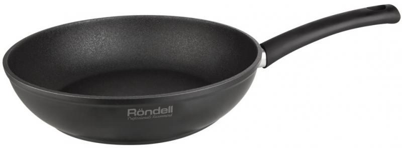 Сковорода глубокая Rondell Mustang RDA-597 24х6см сковорода глубокая rondell mustang rda 597 24х6см