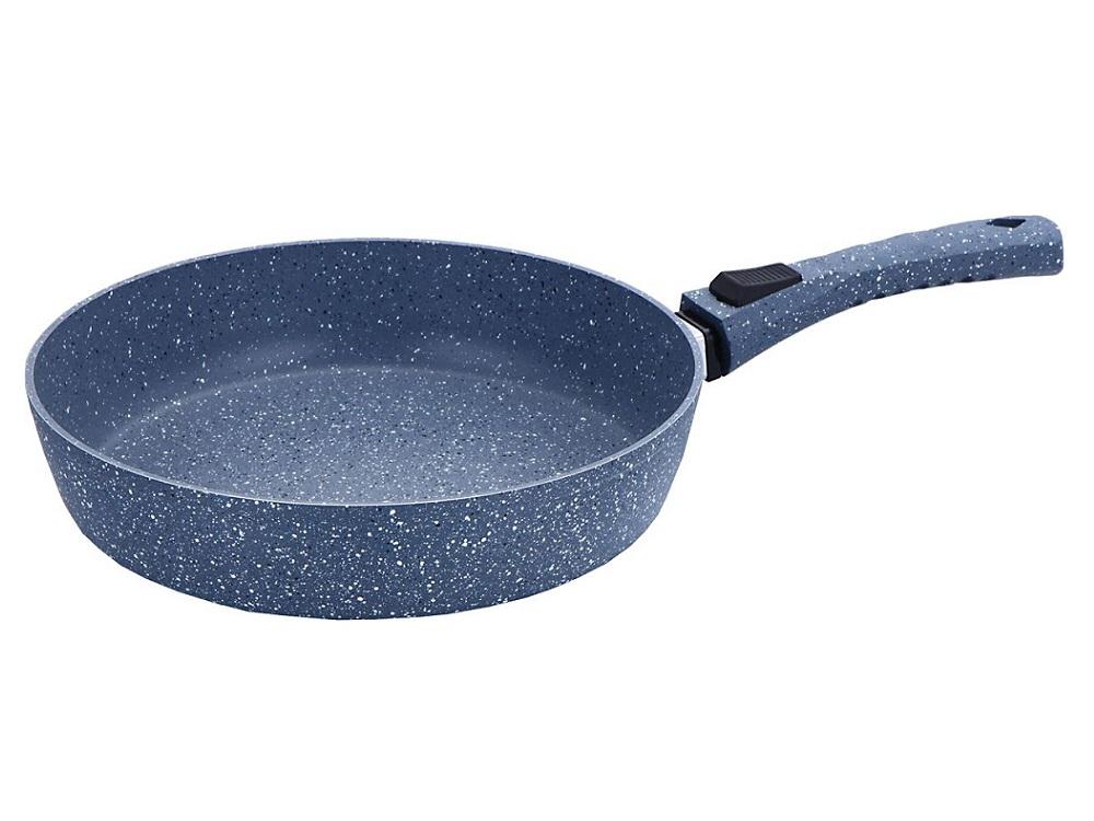 Сковорода Bekker BK-3790 26 см со съемн.ручкой, кованный алюминий. сковорода zeidan z90136 26 см алюминий