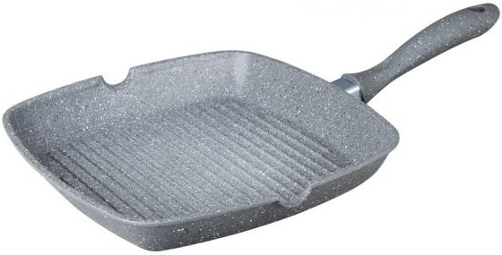 Сковорода-гриль Bekker BK-7915 28 см литой алюминий 9352 bk кофеварка ручная bekker 300мл корпус алюминий ручка пластик