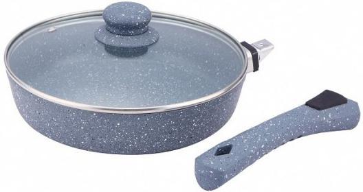 Сковорода Bekker BK-7924 24 см с мраморным покрытием цена и фото