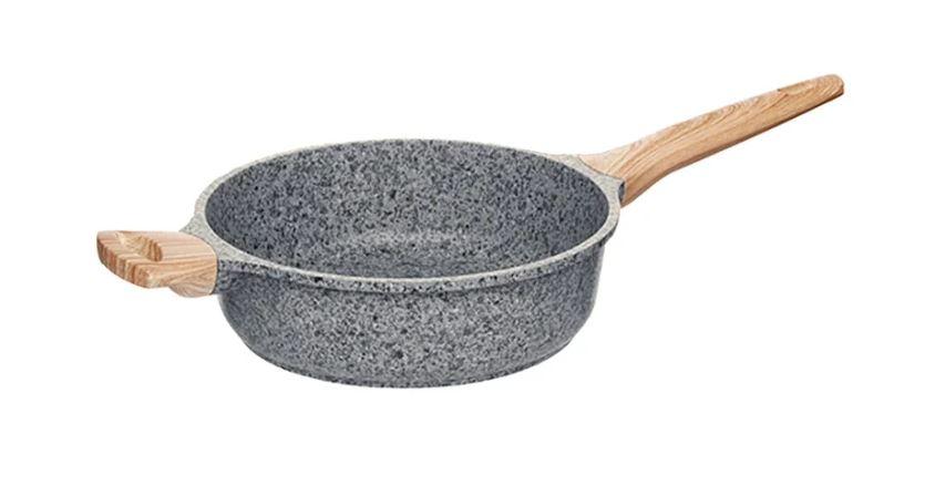 Сотейник Nadoba Mineralica 728428 24 см, серый