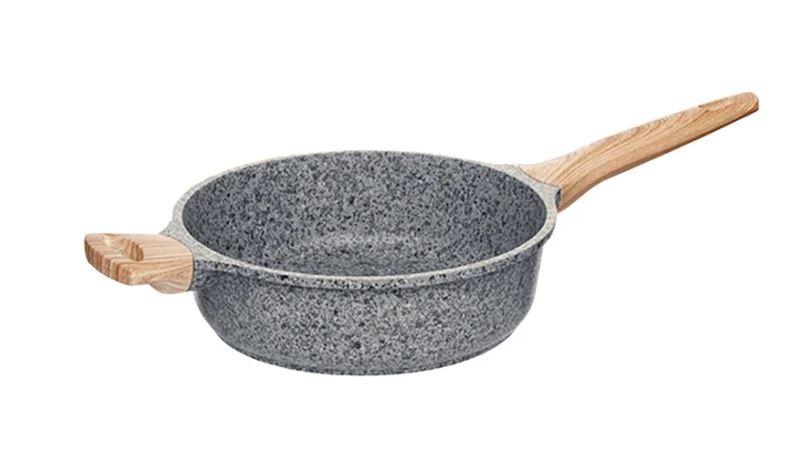 Сотейник Nadoba Mineralica 728426 28 см, серый