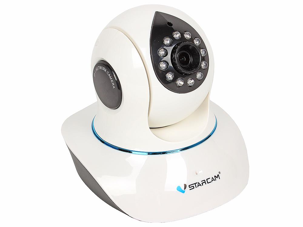 лучшая цена Камера VStarcam C7838RUSS Беcпроводная IP-камера 1280x720, 355°, DuplexAudio, P2P, 3.6mm, 0.8Lx., MicroSD