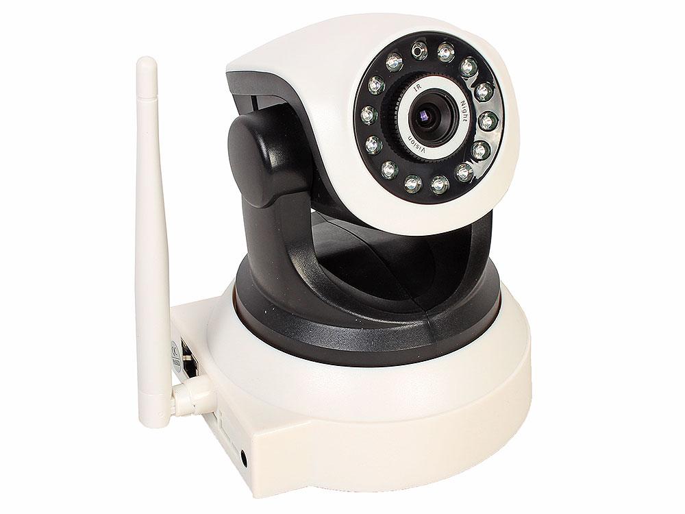 Камера наблюдения ORIENT NCL-02-720p Wi-Fi, беспроводная поворотно-наклонная IP-камера с ИК подсветкой, 1.0 Megapixel CMOS 720p (1280x720@25fps, 3.6 м