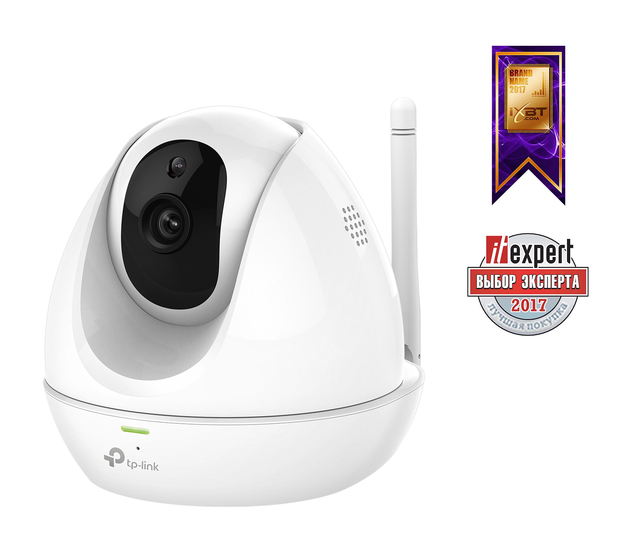 Интернет-камера TP-LINK NC450 Поворотная облачная Wi-Fi HD-камера с ночным видением камера видеонаблюдения tp link nc220 nc220