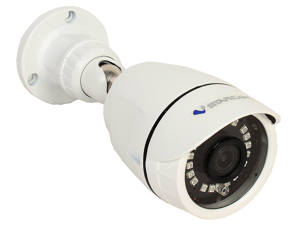 лучшая цена Камера VStarcam C8817RUSS Уличная беспроводная IP-камера 1920x1080, IR15M, P2P, 4mm, 0.3Lx., 86.8*, MicroSD
