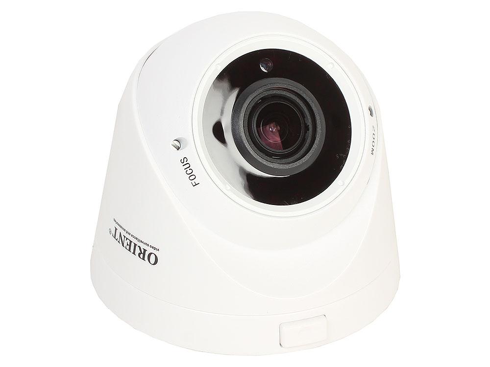 Камера наблюдения ORIENT IP-955-SH24VSD Wi-Fi IP-Камера беспроводная купольная с записью на microSD, 1/2.9