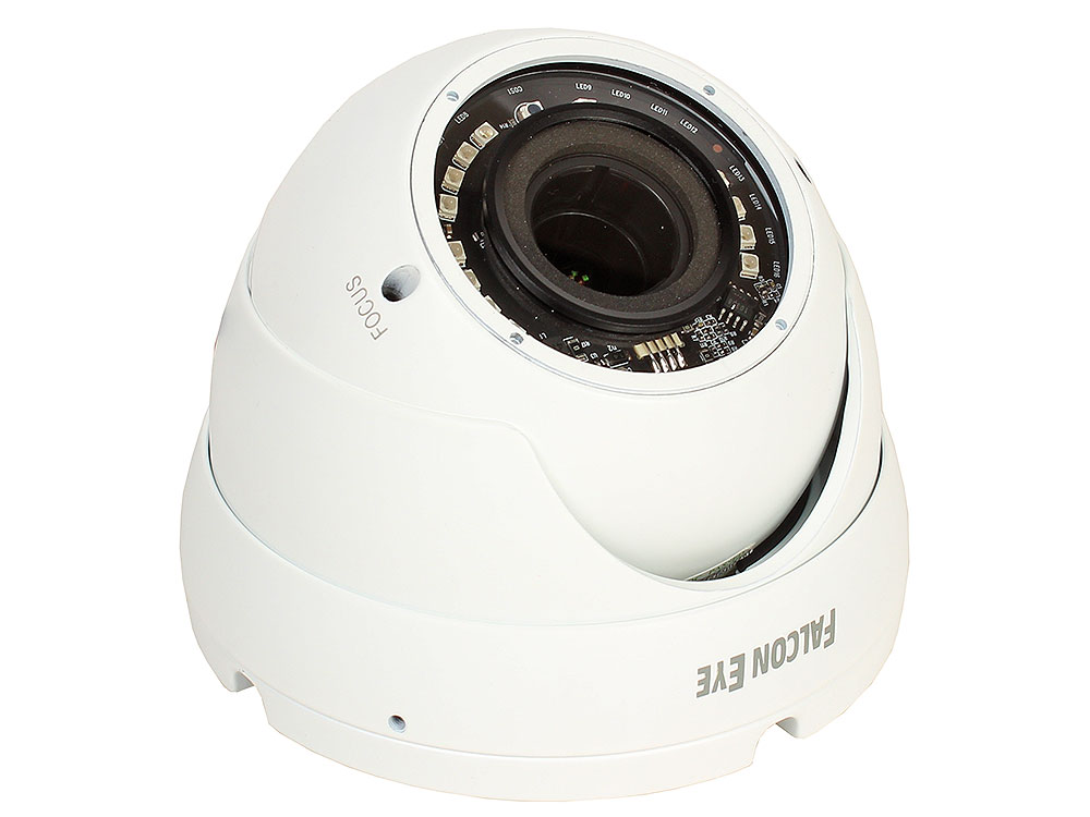 IP-камера Falcon Eye FE-IPC-DL202PV 2 мегапиксельная уличная купольная,H.264, протокол ONVIF, разрешение 1080P, матрица 1/2.8 SONY 2.43 Mega pixels C ip камера 2mp ir dome fe ipc dl202pv falcon eye