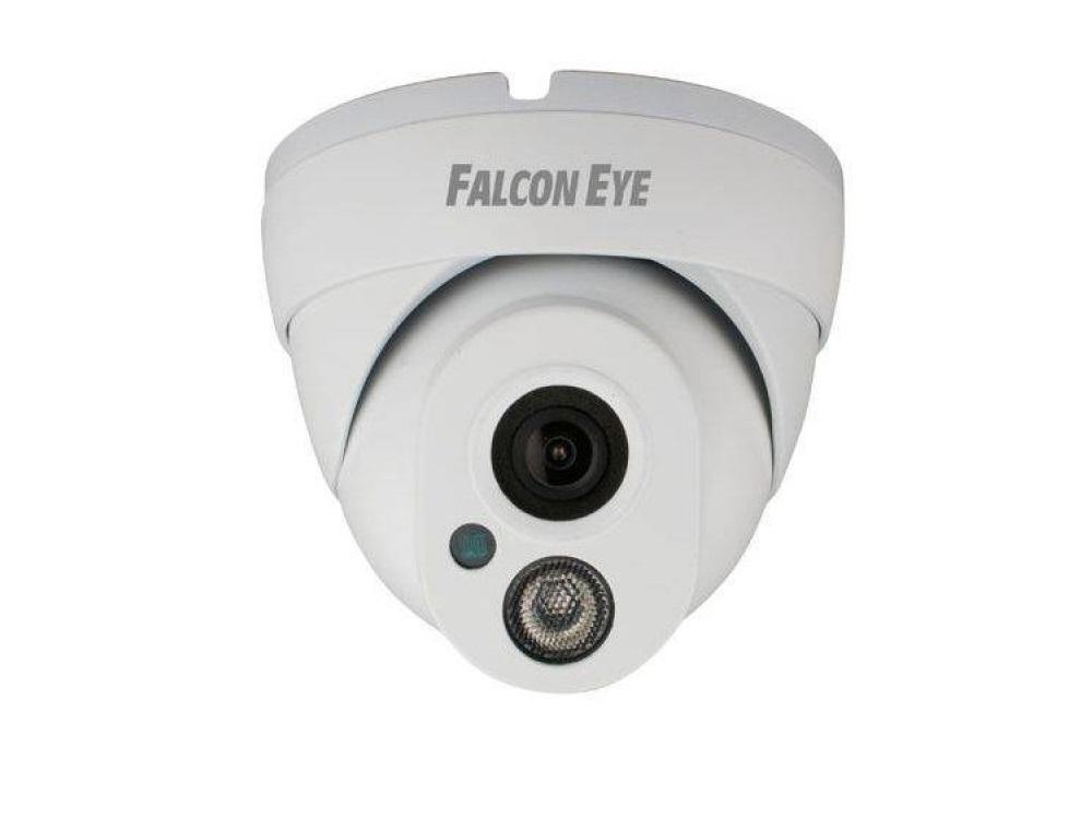 IP-камера Falcon Eye FE-IPC-DL200P ECO, 2Мп уличная IP камера; 1920х1080P*25к/с; Дальность ИК подсветки 10-15м; Объектив f=3.6мм; IP66; DC12V (без POE) ip камера 2mp ir dome fe ipc dl202pv falcon eye