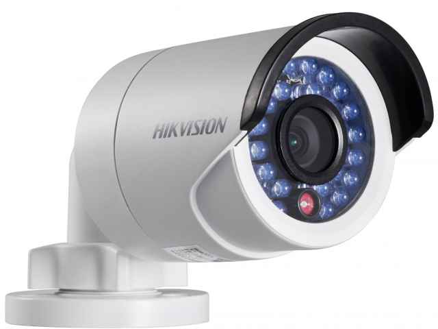 Видеокамера IP Hikvision DS-2CD2022WD-I 8-8мм цветная корп.:белый видеокамера ip hikvision ds 2cd2422fwd iw 4 мм белый