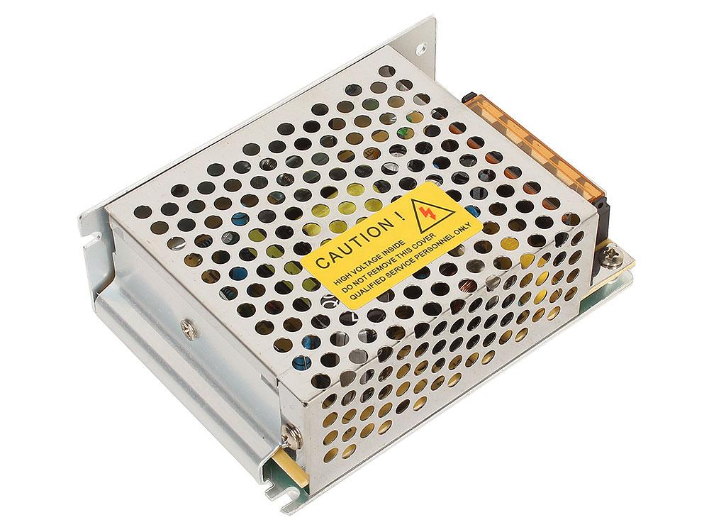 Блок питания ORIENT PB-0405 Импульсный блок питания, AC 100-240V/ DC 12V, 5.0A, стабилизированный, защита от КЗ и перегрузки, ручная рег-ка Uвых, винт блок питания tempo ms85