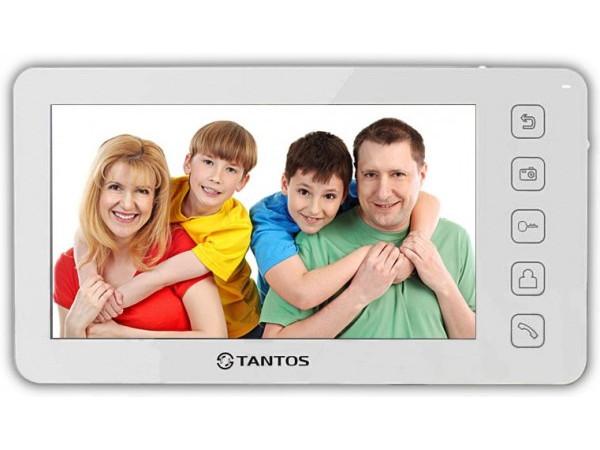 Видеодомофон TANTOS Prime (White) цв. TFT LCD 7