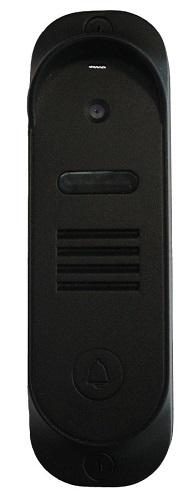 Вызывная панель TANTOS Stich (Black) панель корпусе из литого алюминия, камера 800 ТВЛ, PAL, угол обзора 53 гр., температурный диапазон -30... +50 С, комплект мебели из литого алюминия больцано