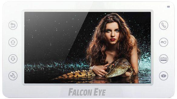 """Видеодомофон Falcon Eye FE-70CH ORION (White) Видеодомофон 7"""" дюймов, 2 вызывные панели, 2 камеры, 4 монитора в интеркоме, ~220В, 210х116х25мм цена и фото"""