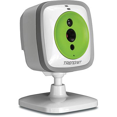 Картинка для Интернет-камера Trendnet TV-IP743SIC WiFi Baby Cam камера няня с ночным/дневным видением (до 5 метров) c динамиком