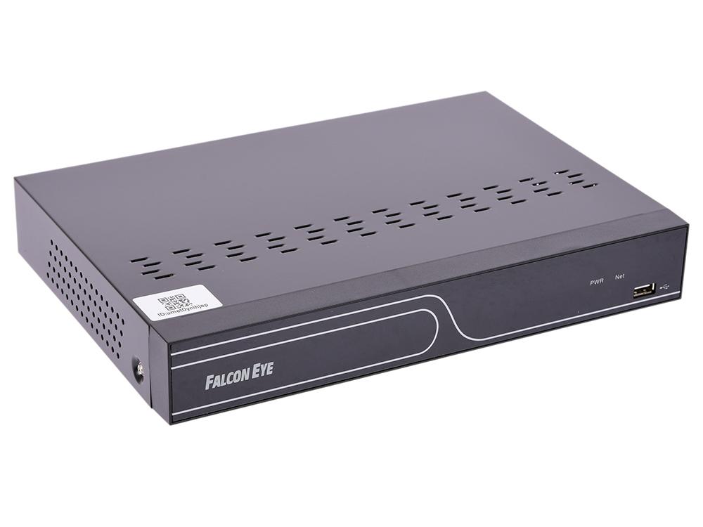 Видеорекордер Falcon Eye FE-NR-8108 8-канальный IP видеорегистратор видеокамера falcon eye fe ib1080ahd 25m 3 6мм 1 2 8
